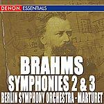Berliner Sinfonie Orchester Brahms: Symphony Nos. 2 & 3