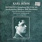 Karl Böhm Beethoven: Symphony No. 9 In D Minor, Op. 125, 'choral'