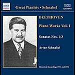 Artur Schnabel Beethoven: Piano Sonatas Nos. 1-3 (Schnabel) (1933-1934)
