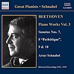 Artur Schnabel Beethoven: Piano Sonatas Nos. 7-10 (Schnabel) (1932-1935)
