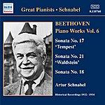 Artur Schnabel Beethoven: Piano Sonatas Nos. 17, 18 & 21 (1932, 1934)