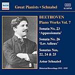 Artur Schnabel Beethoven: Piano Sonatas Nos. 22-26 (Schnabel) (1932-1935)
