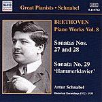 Artur Schnabel Beethoven: Piano Sonatas Nos. 27-29 (Schnabel) (1932-1935)