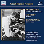 William Kapell Beethoven: Piano Concerto No. 2 / Schubert: Waltzes And Dances (Kapell)(1946-1952)