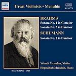 Yehudi Menuhin Brahms / Schumann: Violin Sonatas (Menuhin) (1934-1940)