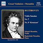 Yehudi Menuhin Beethoven: Sonatas / Schubert: Rondo (Menuhin) (1934-1938)