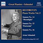 Artur Schnabel Beethoven: Piano Sonatas Nos. 14-16 (Schnabel) (1933-1937)