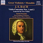 Yehudi Menuhin Bach, J.S.: Violin Concertos Nos. 1 And 2 (Menuhin) (1932-1936)