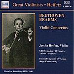 Jascha Heifetz Beethoven / Brahms: Violin Concertos (Heifetz) (1939-1940)