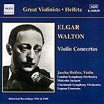 Jascha Heifetz Elgar / Walton: Violin Concertos (Heifetz) (1941, 1949)