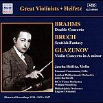Jascha Heifetz Brahms / Glazunov: Violin Concertos (Heifetz) (1934, 1939)