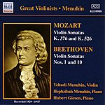 Yehudi Menuhin Mozart / Beethoven: Violin Sonatas (Menuhin) (1929-1947)