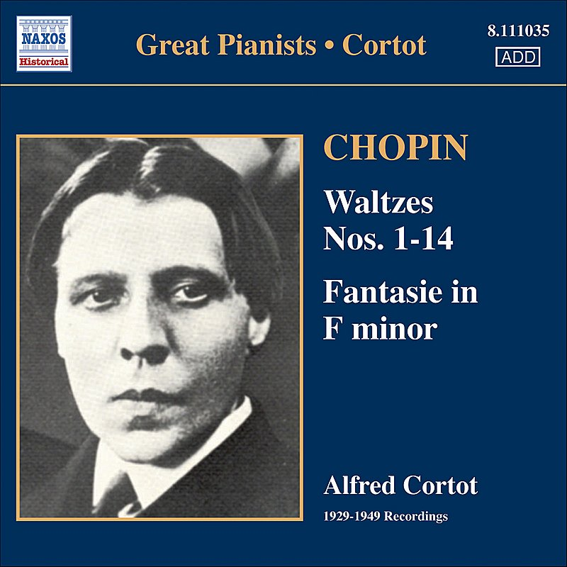 Cover Art: Chopin: Waltzes Nos. 1-14 / Fantasie (Cortot, 78 Rpm Recordings, Vol. 2) (1933-1949)