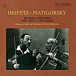 Jascha Heifetz Brahms: Concerto In A Minor For Violin And Cello, Op. 102