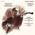 "Jascha Heifetz Beethoven: Sonata No. 9, Op. 47 ""Kreutzer"" In A, Bach: Concerto In D Minor For Two Violins, Bwv 1043"