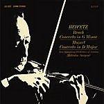 Jascha Heifetz Bruch: Violin Concerto No. 1 In G Minor, Op. 26 , Mozart: Violin Concerto No. 4, K.218, In D