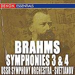 USSR State Symphony Orchestra Brahms: Symphony Nos. 3 & 4
