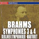 Berliner Symphoniker Brahms: Symphony Nos. 3 & 4