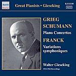 Walter Gieseking Gieseking - Concerto Recordings, Vol. 1