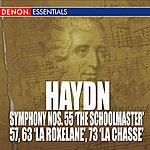 "South German Philharmonic Haydn: Symphony Nos. 55 ""The Schoolmaster"", 57, 63 ""La Roxelane"" & 73 'la Chasse'"
