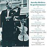 Jascha Heifetz Jascha Heifetz In Performance (1945-1954)