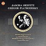 Jascha Heifetz Jascha Heifetz And Gregor Piatigorsky: Brahms: Quintette In G. Op. 111; Beethoven: Piano Trio In E-Flat, Op. 70, No. 2 Piano Trio In E-Flat, Op. 70, No. 2