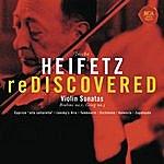 Jascha Heifetz Heifetz Rediscovered - Grieg: Sonata No. 3 In C Minor, Op. 45, Brahms: Sonata No. 1 In G, Op. 78