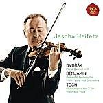 Jascha Heifetz Dvorak: Piano Quintet In A;Benjamin: Romantic Fantasy; Toch: Divertimento No. 2
