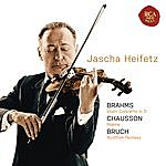 Jascha Heifetz Brahms: Violin Concerto In D; Chausson: Poeme; Bruch: Scottish Fantasy