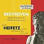 Jascha Heifetz Beethoven: Sonata In D, Op. 12, No. 1; Sonata In A, Op. 12, No. 2