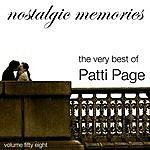 Patti Page Nostalgic Memories-The Very Best Of Patti Page-Vol. 58
