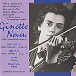 Ginette Neveu Ginette Neveu 1949 Concert Performances