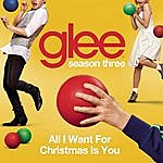 Cover Art: All I Want For Christmas Is You (Glee Cast Version)