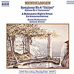 Slovak Philharmonic Orchestra Mendelssohn: Symphony No. 4 / A Midsummer Night's Dream (Excerpts)