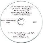 Arthur Jackson The Philosophy Of Chopp Funk (The Six Pack)