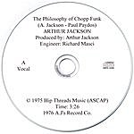 Arthur Jackson The Philosophy Of Chopp Funk (With Vocals)