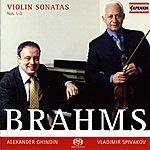 Vladimir Spivakov Brahms, J.: Violin Sonatas Nos. 1-3