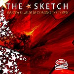 Sketch Santa Claus Is Coming To Town