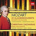 Christian Zacharias Mozart: 21 Klavierkonzerte / Konzerte Für 2 Klaviere