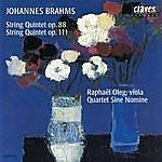 Raphael Oleg Brahms : String Quintets Op. 88 & Op. 111