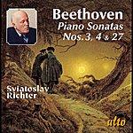 Sviatoslav Richter Beethoven: Piano Sonatas Nos. 3, 4, & 27