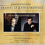 Emanuel Ax Brahms: Sonata For Two Pianos; Variations On A Theme By Haydn