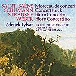 Czech Philharmonic Orchestra Weber, Strauss, Saint-Saëns, Schumann: Concertino In E Minor, Concerto In C Minor, Morceau De Concert, Concerto Piece