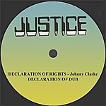 """Johnny Clarke Declaration Of Rights And Dub 12"""" Version"""