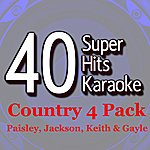 B Star 40 Super Hits Karaoke: Country 4 Pack (Paisley, Jackson, Keith & Gayle)