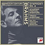 Leonard Bernstein Brahms: Symphony No. 4; Academic Festival Overture; Tragic Overture