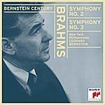 Leonard Bernstein Brahms: Symphony No. 2 In D Major; Symphony No. 3 In F Major