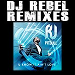 RJ You Know It Ain't Love Dj Rebel Remixes (Featuring Pitbull)