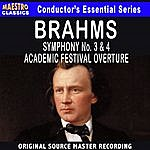 South German Philharmonic Brahms: Symphony No. 3 & 4, Academic Festival Overture