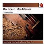 Jascha Heifetz Beethoven: Violin Concerto; Mendelssohn: Violin Concerto